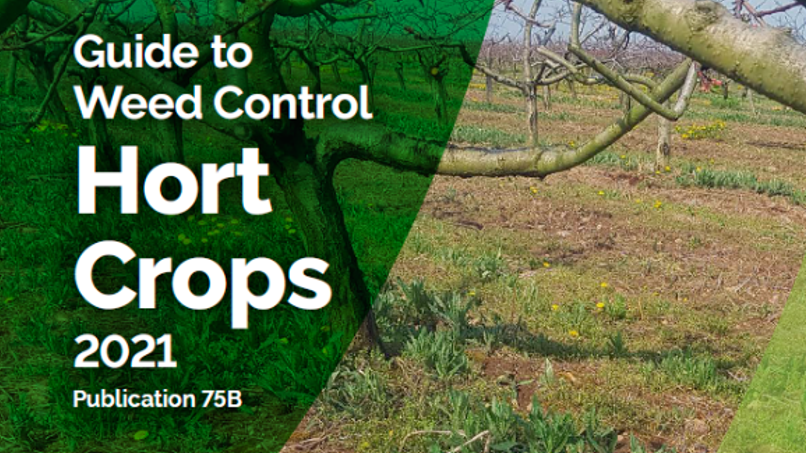 Publication 75B Guide to Weed Control for Horticultural Crops